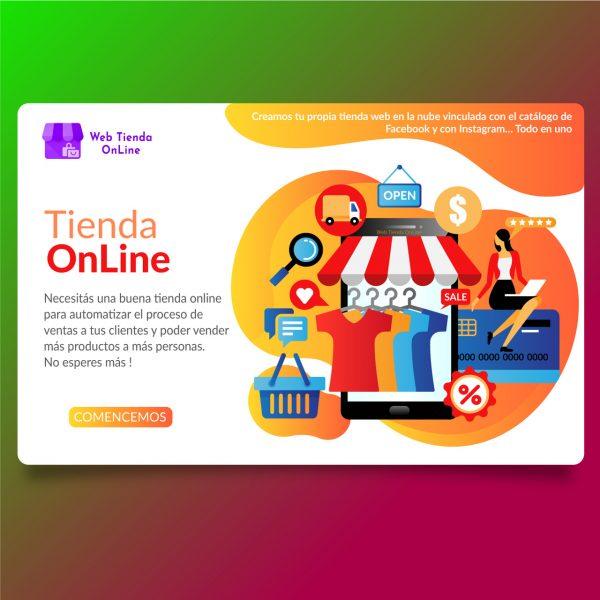 Tienda Online es una tienda personalizada de código libre.