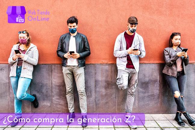 Cómo compra la generación Z - Web Tienda Online